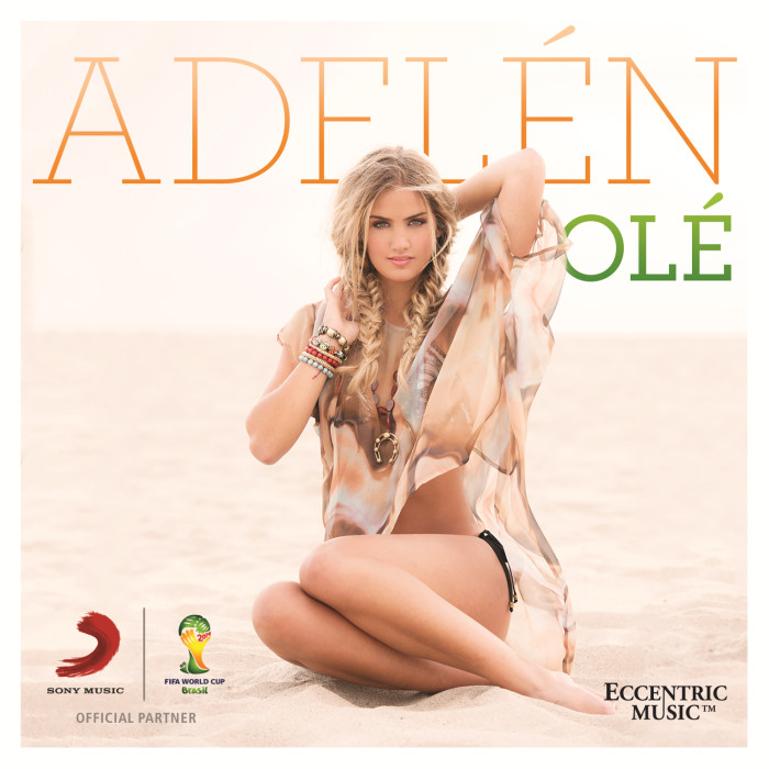 WHAT DO J-LO, AVICII, RICKY MARTIN, SHAKIRA, PITBULL AND AN UNKNOWN 17 YEAR OLD GIRL FROM NORWAY, NAMED ADELÉN, HAVE IN COMMON? THEY ARE ALL PART OF THE OFFICIAL FIFA WORLD CUP ALBUM!